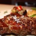 carne roja de buey