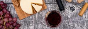 maridaje de vino con queso