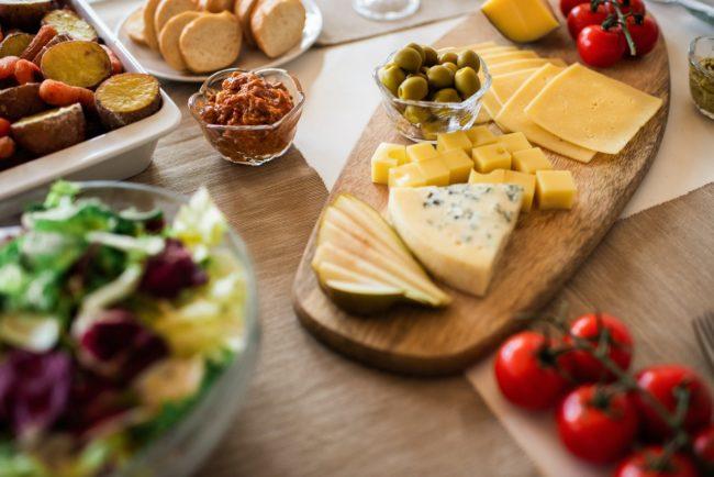 recetas con queso semicurado